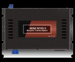 賓士NTG5.5導航介面